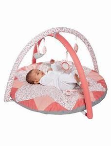 tapis d39eveil bebe collection bio rose vertbaudet enfant With tapis enfant bio