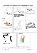 Stretches In 10 Minutes For Lower Back Pain Relief   Chiropractor St      Lower Back Stretches For Pain Relief