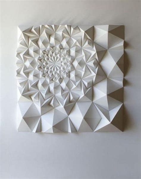 But filling up walls can be an expensive endeavor, especially if you have a lot of empty space to cover. 20 Ideas of 3D Triangle Wall Art   Wall Art Ideas