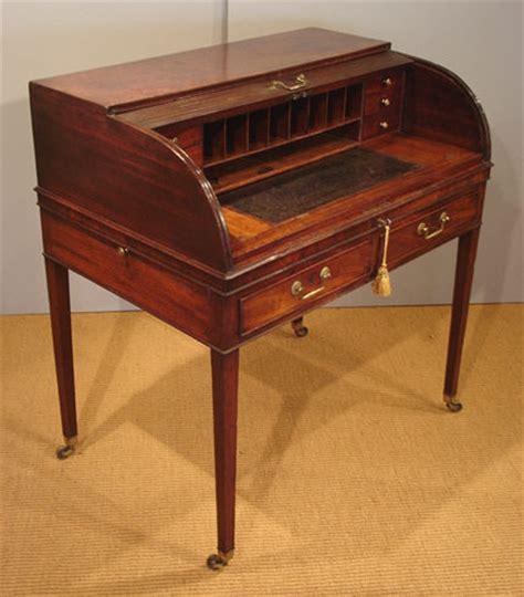 Georgian Desk by Georgian Tambour Desk Antique Bureau Antique Desks