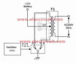 ic 555 inverter circuit using mosfet With 50hz accurate oscillator circuit schematic diagram wiring diagram