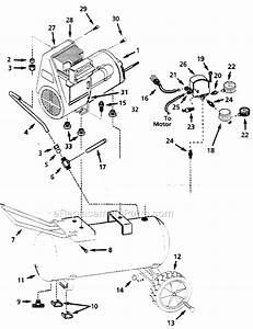 Campbell Hausfeld Wl610000aj Parts List And Diagram