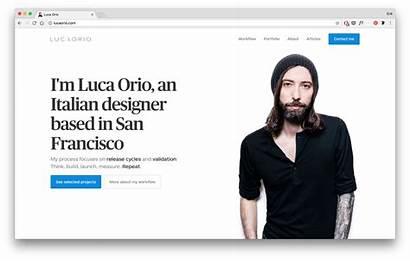 Portfolio Ui Ux Luca User Orio Student