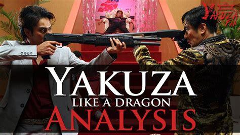 yakuza   dragon  analysis youtube