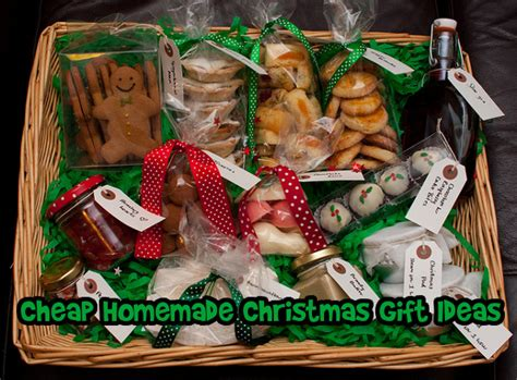 cheap homemade christmas gift ideas