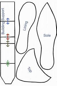 shoe template for gumpaste high heel high heel shoes With gumpaste high heel template