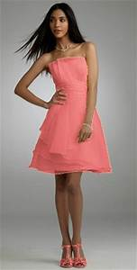 Coral Colored Dresses Oasis amor Fashion