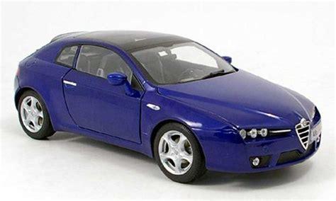Alfa Romeo Brera Blue 2006 Norev Diecast Model Car 1/18