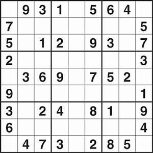 Sudoku For Kids Printable - Free HD Images