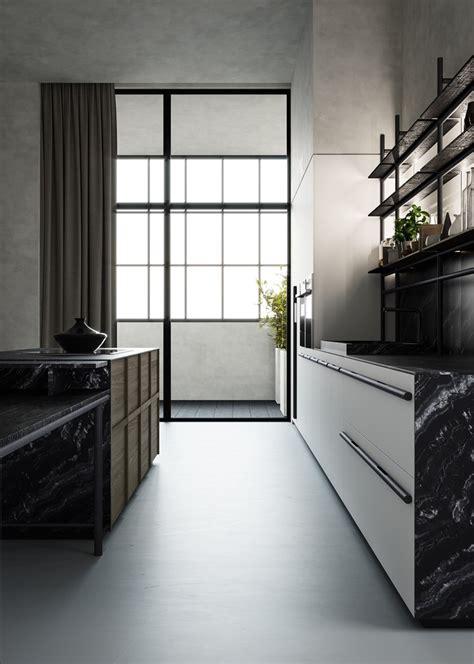 fitted kitchen  handles irori  zampieri cucine