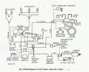 John Deere 400 Wiring Diagram Throughout John Deere 400