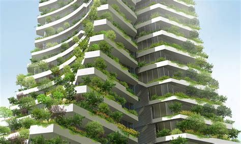 Vertical Gardens And Green Facades In The City