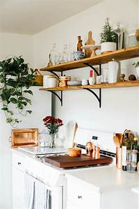 Open, Kitchen, Shelves, For, Under, 100, U2014, College, Housewife