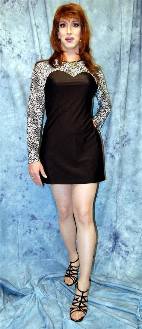 Best Crossdresser White Leopard Top Crossdresser Club Dress From Www