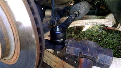 stuck tie rod removal youtube