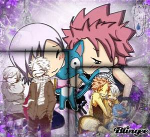 Lisanna & Natsu(With Happy) Picture #124101469 | Blingee.com