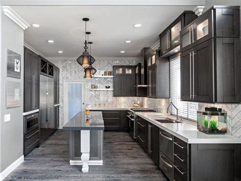 gray kitchen cabinets with hardwood floors meditation room colors kitchen ideas with grey cabinets