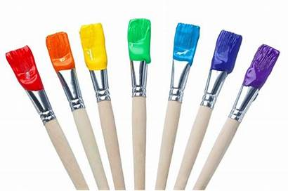 Paint Brushes Rainbow Ms Point 1200 Register