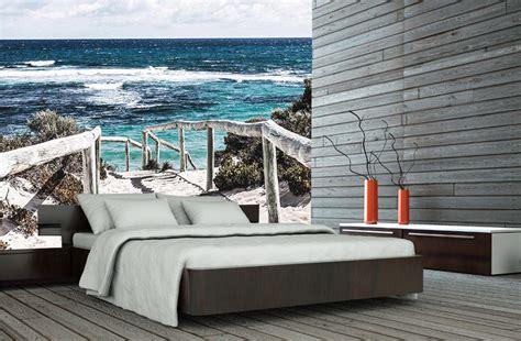 papier peint trompe l oeil chambre poster mural trompe l 39 oeil bord de mer dune plage et