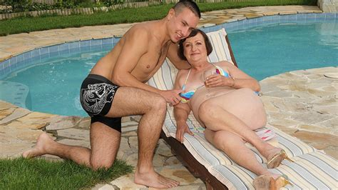 Bikini Granny Enjoys Sex With Her Younger Lover Hd Porn Ae