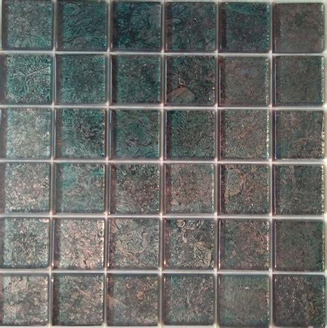 mosaique cuisine pas cher mosa 239 que carrelage et frise vert bronze dor 233 4 8 cm par plaque achat mosa 239 que carrelage