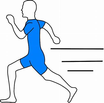Running Runner Clip Clipart Pixabay Gambar Transparent