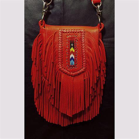 beaded bag tribe america leathers