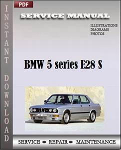 Bmw 5 Series E28 Service Manual Workshop