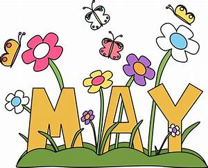 Month of may Flowers Clip Art - Month of may Flowers Image