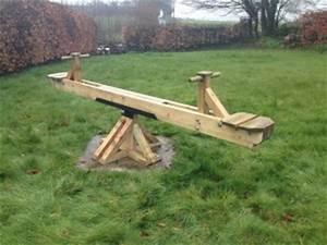 Playground Seesaw The Wooden Workshop Oakford, Devon