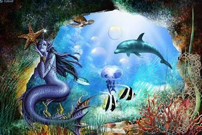 Underwater Fantasy Animated Mermaid Cool Mobile9 Google