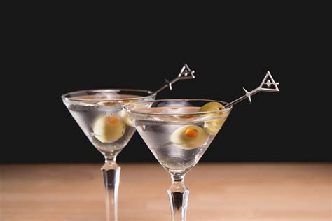 martini up stirred dry up serving a classic gin martini behind the bar