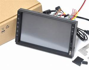 2din In Dash 7 U0026quot  Samsung Hdmi Touch Screen Monitor Kit Usb