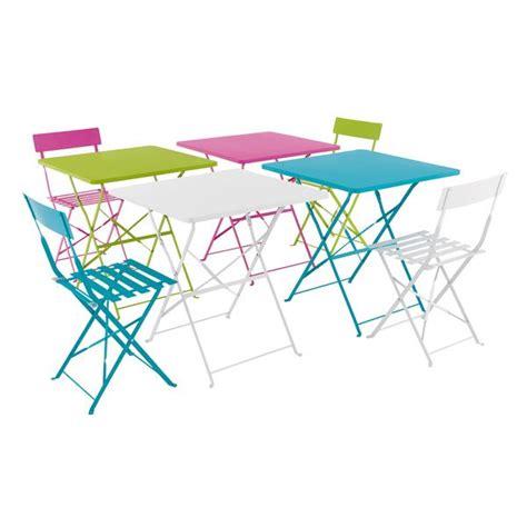 ensemble table et chaise de jardin pas cher tables et chaises pop fly maison