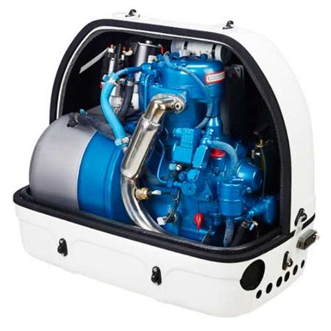 Small Boat Genset by Sol 233 Diesel 4gsch Light And Compact Marine Generator