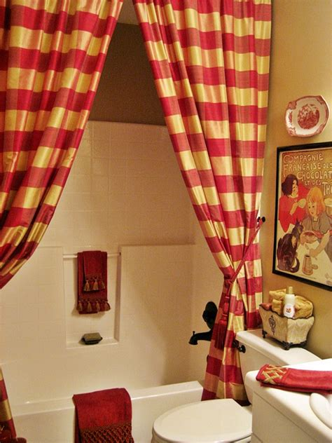 hometalk  french country guest bathwith drapery