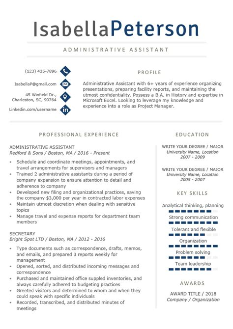It Professional Resume Templates by Professional Resume Templates Free Resume Genius