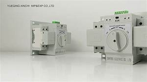 40 Amp Manual Transfer Switch