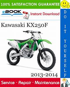 Best  U2606 U2606 Kawasaki Kx250f Motorcycle Service Repair Manual