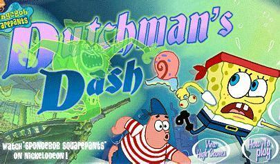 olandese volante spongebob spongebob dutchmans dash il gioco