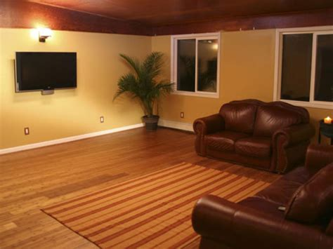 install bamboo floors hgtv basement cement floor paint