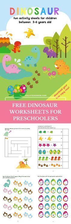 dinosaur preschool no prep worksheets amp activities 499   a91deb9e17ce96085c3010c0171861c2 kindergarten party worksheets for kindergarten