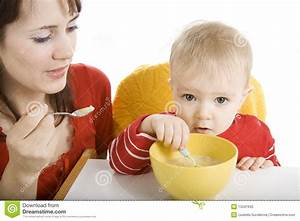 Boy Eating Breakfast Stock Photo - Image: 13341630