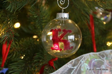 full  great ideas monogrammed ornament  nail polish