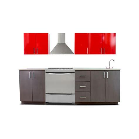 cocina integral minimalista mod casa blanca de estufa