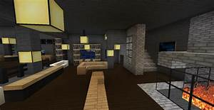 Modern Minecraft Mansion - Living Room #2 by ...