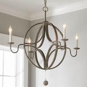rustic, celestial, chandelier