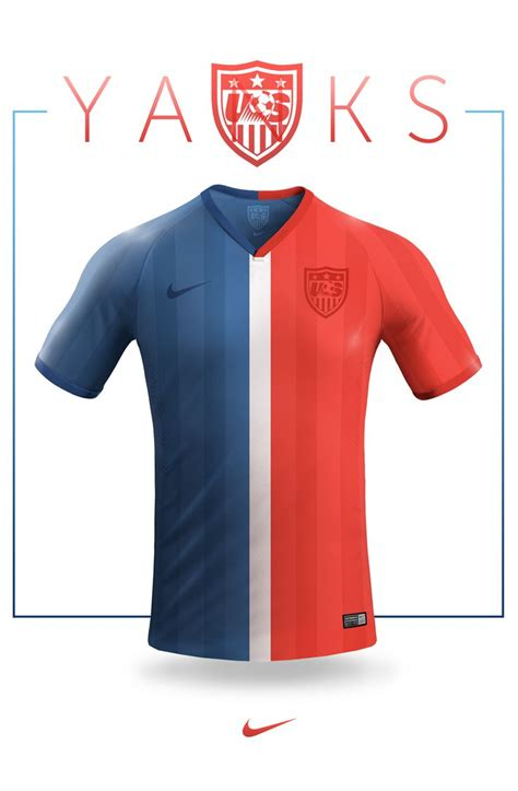 national football teams concept jersey design nike