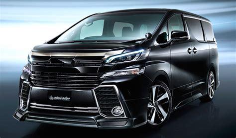 Toyota Vellfire Backgrounds by 2016 Toyota Alphard Vellfire Get Modellista Kits