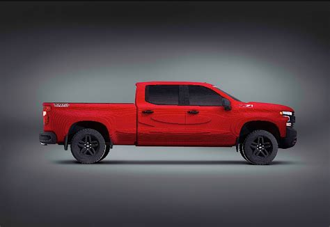 Chevrolet Debuts Full Size Silverado Trail Boss Built
